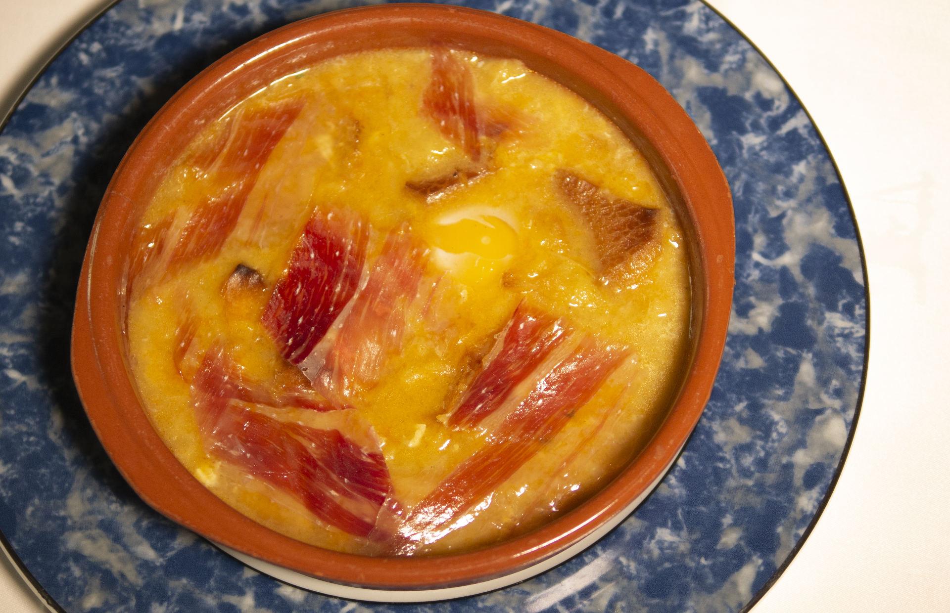 Imagen sopa de castellana del Asador El Molino Madrid Plaza de Castilla