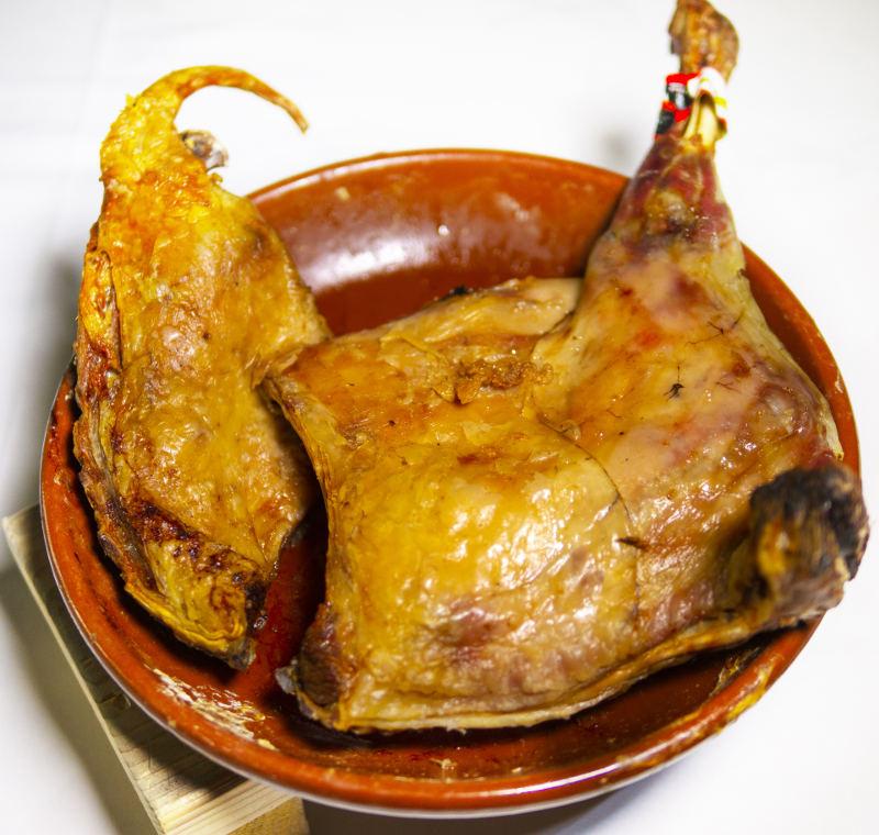 Cordero lechal asado para recoger y a domicilio Madrid | Restaurante Asador El Molino