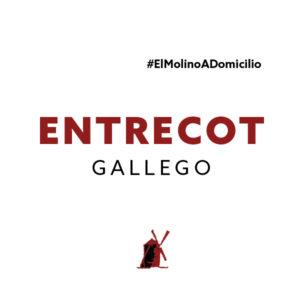 Entrecot gallego para recoger y a domicilio Madrid   Restaurante Asador El Molino