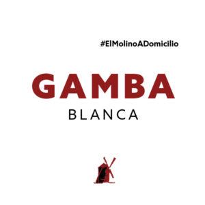 Gamba blanca (250 g) para recoger y a domicilio Madrid | Restaurante Asador El Molino