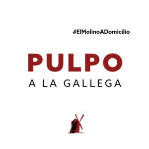 Pulpo a la gallega para recoger y a domicilio Madrid | Restaurante Asador El Molino