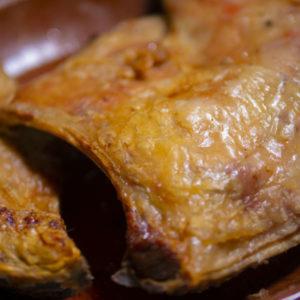 Ración de cordero lechal para recoger y a domicilio Madrid | Restaurante Asador El Molino